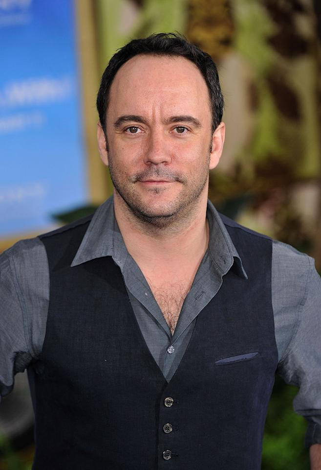 """<a href=""""http://movies.yahoo.com/movie/contributor/1808509278"""">Dave Matthews</a> attends the Los Angeles premiere of <a href=""""http://movies.yahoo.com/movie/1810150358/info"""">Just Go With It</a> on February 8, 2011."""
