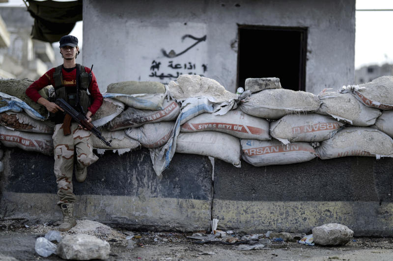 United Nations Syria Rebel Stronghold
