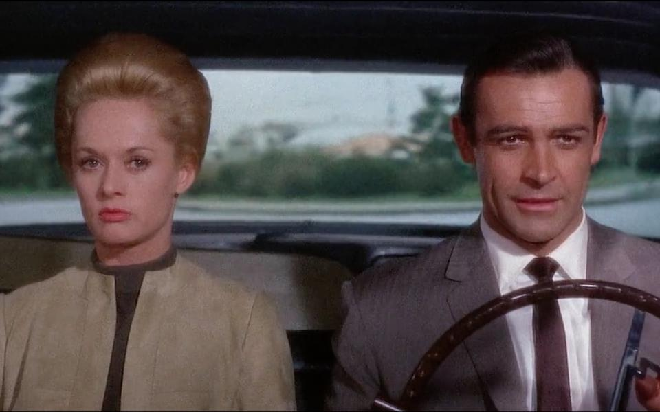 Tippi Hedren and Sean Connery in Hitchcock's Marnie (1964)