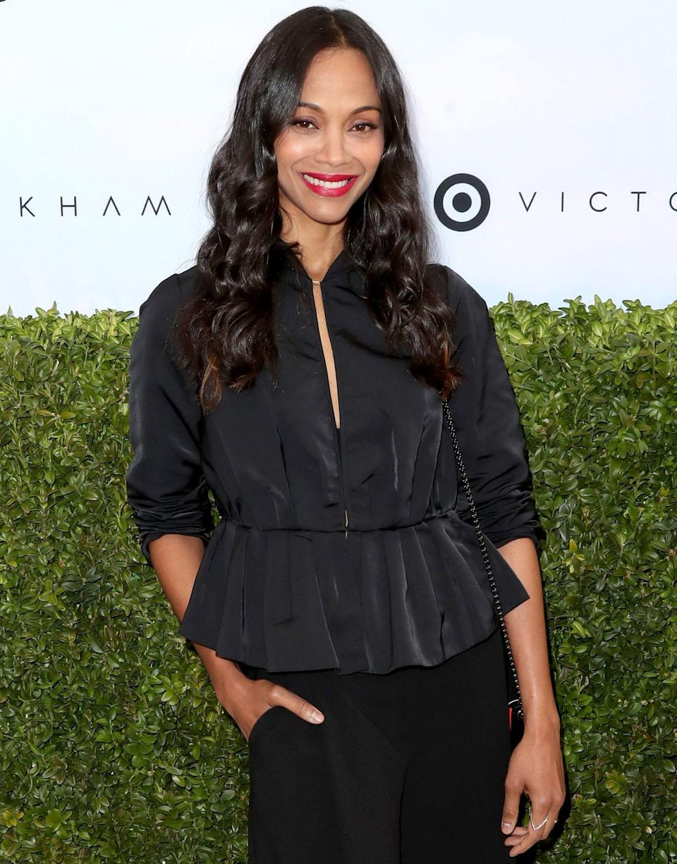 """<p>On an episode of <a href=""""http://www.eonline.com/news/439075/zoe-saldana-reveals-her-favorite-sex-position"""" rel=""""nofollow noopener"""" target=""""_blank"""" data-ylk=""""slk:The Conversation with Amanda de Cadenet"""" class=""""link rapid-noclick-resp""""><i>The Conversation with Amanda de Cadenet</i></a>, the <i>Guardians of the Galaxy</i> star shared that she finally found the trick to making a certain position work for a long-legged lady like herself. """"I have to say, for a long time I was a bit lazy, so I didn't like to be on top, but I'm really digging it,"""" she said.</p> <p>""""But I've found things that work … because I have really long legs, you just make them sit or lay on a pillow, or two pillows, that way they're like a little elevated, so I won't be so, like, doing a split because my legs are really long.""""</p>"""