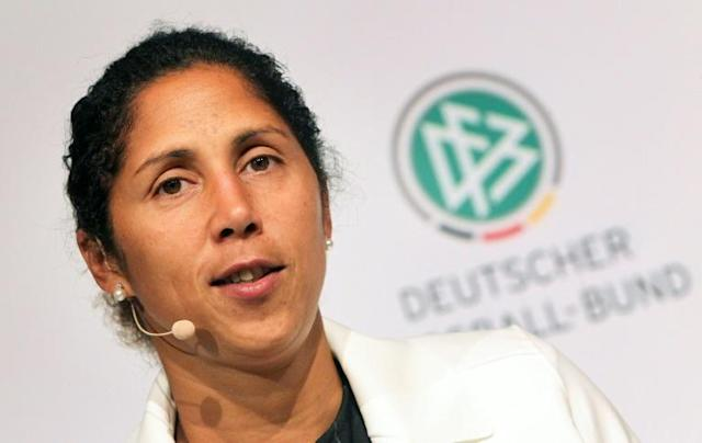 The coach of Germany's women's team, Steffi Jones, has been sacked after a disastrous performance at a high-profile tournament in the United States