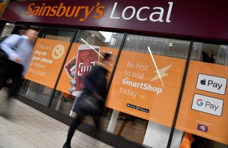 Sainsbury's says not talking to internal candidates for CEO succession