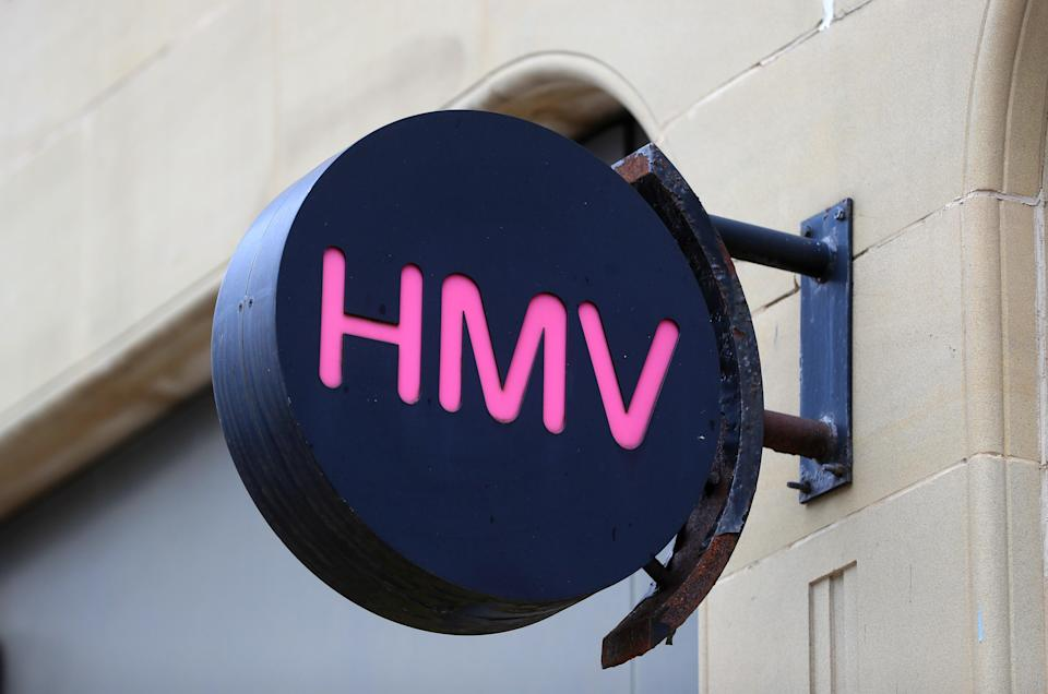 HMV has revealed plans to open new stores despite the impact of the pandemic (Mike Egerton/PA) (PA Archive)