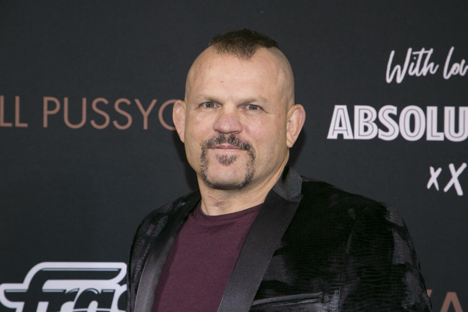 LOS ANGELES, CALIFORNIA - Chuck Liddell attends Paul Oakenfold Presents 'Faster Kill Pussy Cat' at the Private Residence of Jonas Tahlin, CEO of Absolut Elyx on January 26, 2020 in Los Angeles, California. (Photo by Gabriel Olsen/Getty Images for Absolut Elyx)