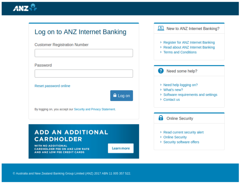 Pictured: ANZ Bank scam screenshot. Image: Mailguard