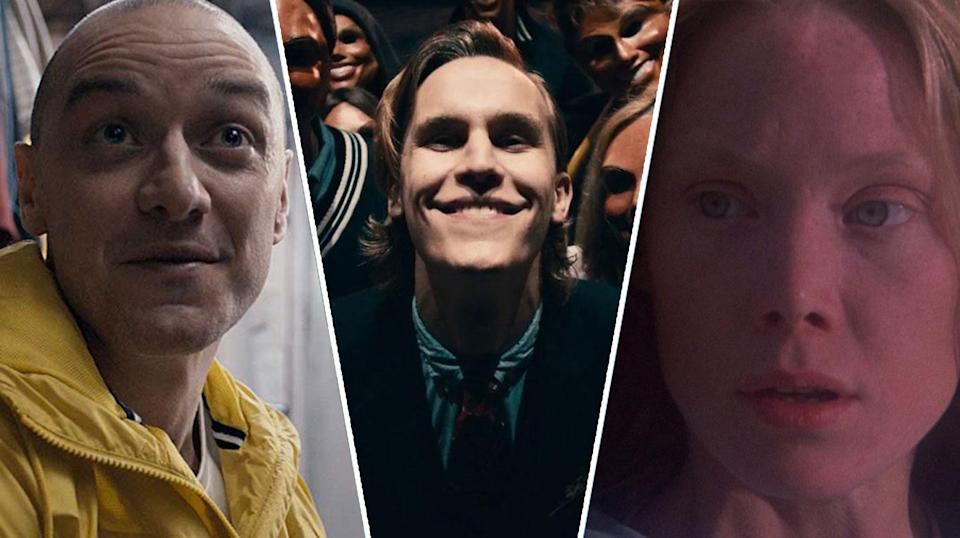Split, The Purge and Carrie are all on Netflix now.