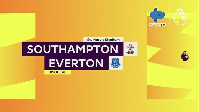 VIDEO Highlights Mola TV: Southampton 2 vs 0 Everton | Liga Inggris | (25/10/2020)