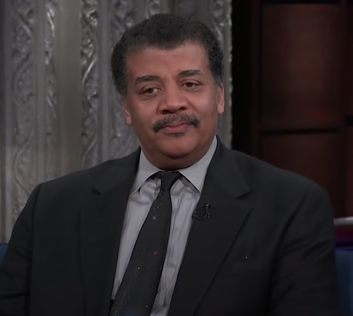 """Neil deGrasse Tyson on """"The Late Show with Stephen Colbert"""""""