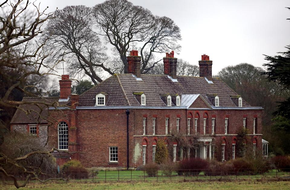 Anmer Hall is where William and Kate live when not in London. (PA Wire)