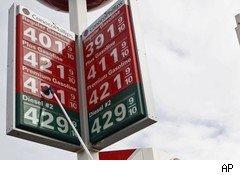 California gas prices in March 2011