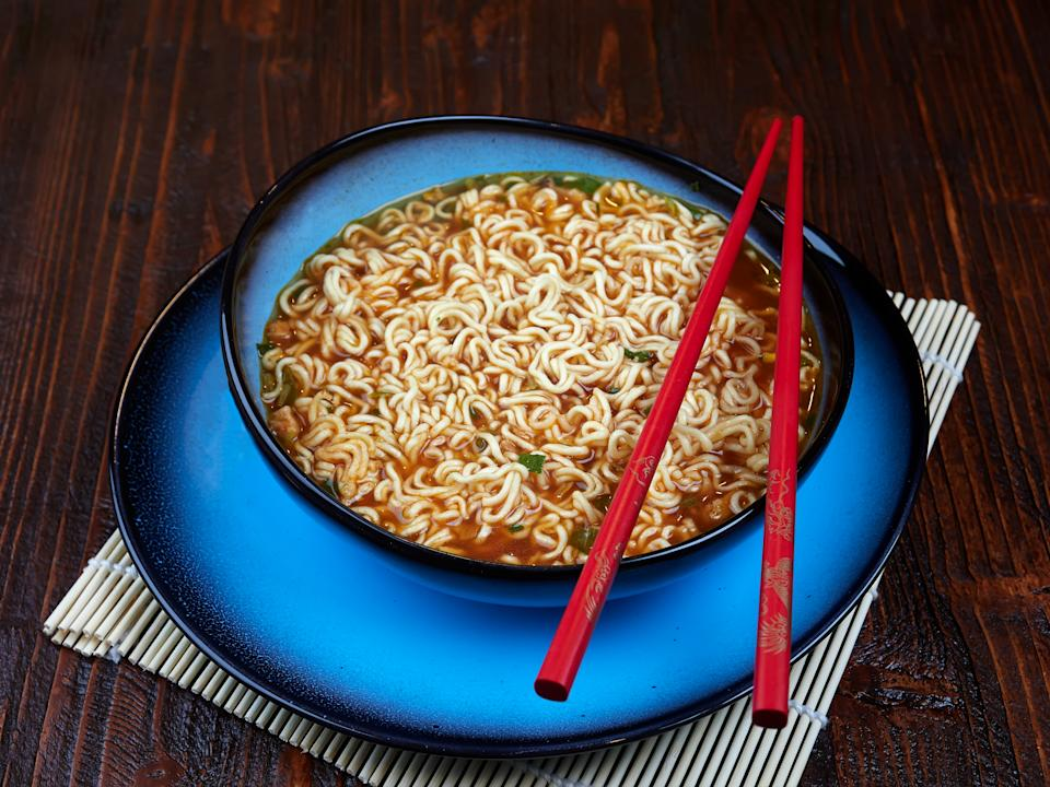 Shin Ramyun is a popular Korean noodle dish with an intense spicy flavour. (PHOTO: Getty Images)