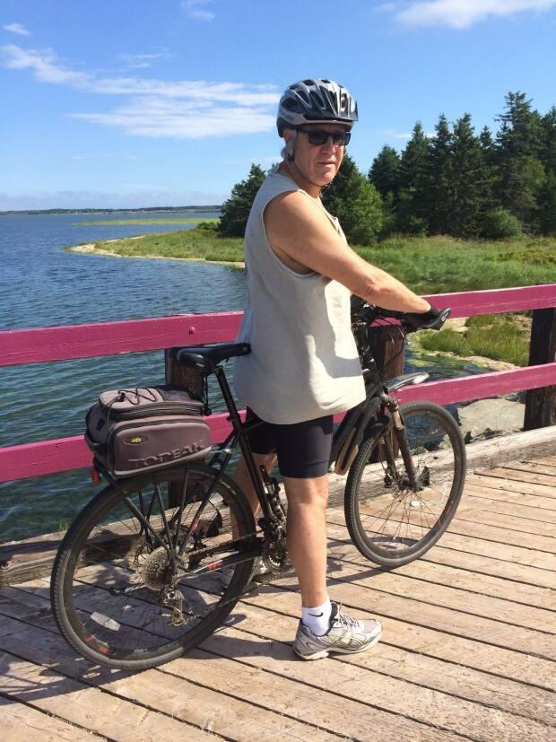 Paul Gunn from Charlottetown has been cycling for almost his entire life.  (Submitted by Paul Gunn - image credit)