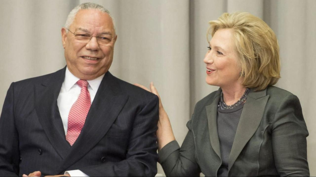 Former Secretary of State Colin Powell claims he never advised Clinton to use her own private email.
