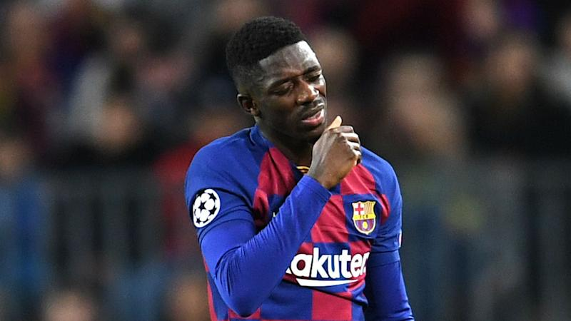 Barcelona star Ousmane Dembele out for six months