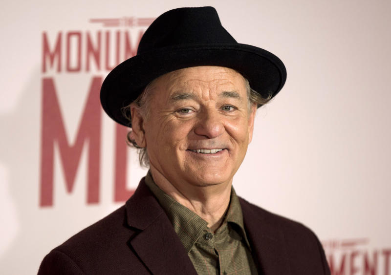 Bill Murray has six sons. (Neil Hall / Reuters)