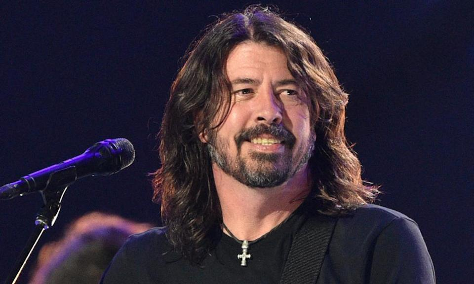 Dave Grohl. Or possibly Lawrence Llewellyn-Bowen