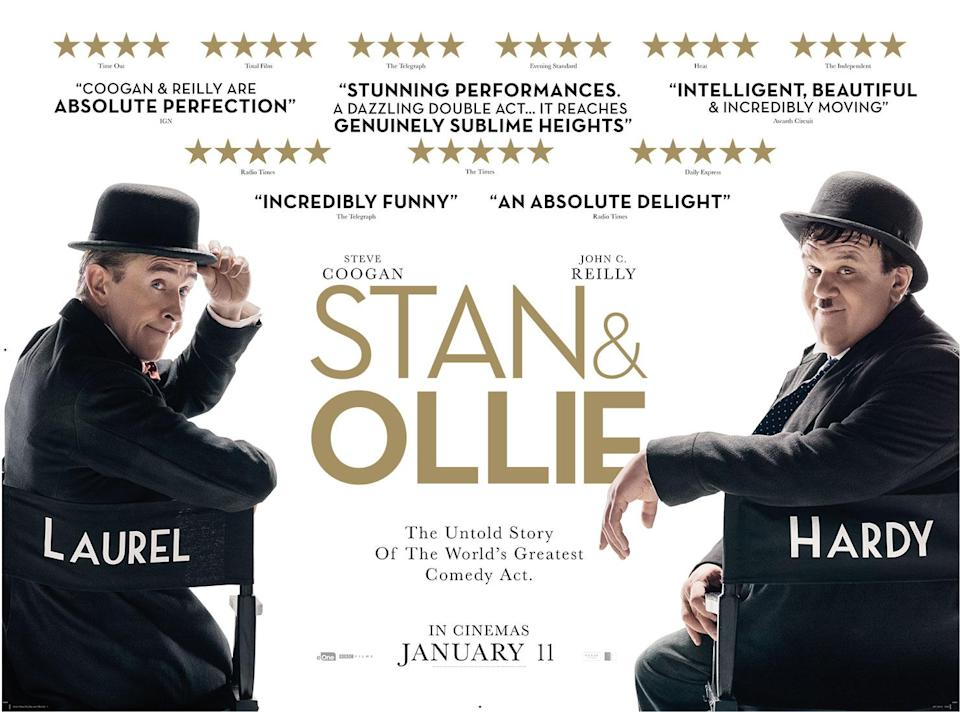 Critics have been raving about <i>Stan & Ollie</i>, and there's even been talk of awards (eOne)