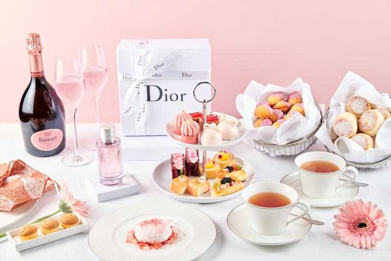 Ruinart and Dior Parfums present An Afternoon Tea for the Senses. (PHOTO: Dior)