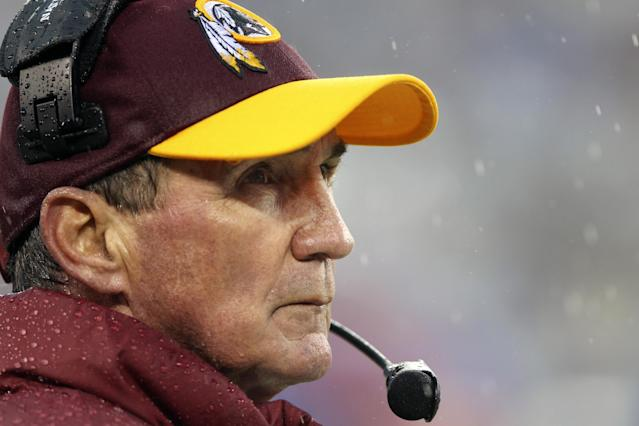 "Washington Redskins head coach Mike Shanahan's window to coach has ""passed,"" his son said. (AP)"
