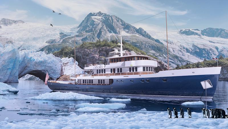 56-Meter Explorer Yacht from Turquoise Yachts