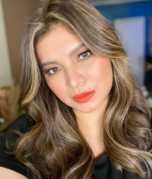 Angel Locsin cautions all Filipinos living abroad to stay safe.