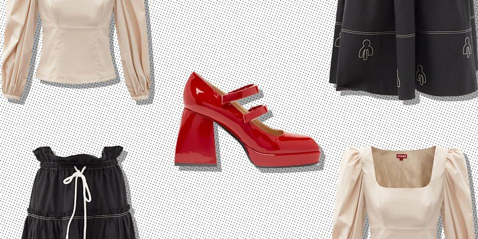 """<p>Not only are we experiencing a heatwave this month, but Matches Fashion has just unveiled an up to 50% off sale. Finally, things are looking up after the year we've had. Thank you, 2021. </p><p><a class=""""link rapid-noclick-resp"""" href=""""https://go.redirectingat.com?id=127X1599956&url=https%3A%2F%2Fwww.matchesfashion.com%2Fwomens%2Fsale%3Fpage%3D1%26noOfRecordsPerPage%3D240&sref=https%3A%2F%2Fwww.elle.com%2Fuk%2Ffashion%2Fwhat-to-wear%2Fg36616066%2Fmatches-fashion-sale%2F"""" rel=""""nofollow noopener"""" target=""""_blank"""" data-ylk=""""slk:SHOP MATCHES FASHION SALE NOW"""">SHOP MATCHES FASHION SALE NOW</a></p><p>Our Hot Girl <a href=""""https://www.elle.com/uk/fashion/what-to-wear/articles/g30585/best-summer-dresses-maxi-midi-mini/"""" rel=""""nofollow noopener"""" target=""""_blank"""" data-ylk=""""slk:Summer"""" class=""""link rapid-noclick-resp"""">Summer</a> is calling, and for it, we need the perfect outfit. So why not make sure every piece of your ensemble comes at a slashed price thanks to the Matches Fashion sale? From top to bottom you can deck yourself in designer, but at a deliciously discounted price. With 6,000 plus items currently on sale there's arguably too much choice to wade through. So to stop shopping be a chore, we've created a 30-piece edit to help you navigate the mammoth discount section and make sure you get the 'fit you deserve.</p><p>At the top of our list is Nodaleto's cult Bulla Babies platform heels in red, which, with their '1990s does 1960s' look, will carry you farther than the summer 2021. If you're working with a smaller budget, Paco Rabanne's tie-dye socks or Shrimps' adorable gingham hair tie should be on your radar and are sure to bring an extra bit of pizzazz to any outfit. </p><p>Whether you're in the market for out-of-season outerwear (a great shout if you're looking for a true bargain) from Stand Studio or more weather-appropriate sun dresses from Molly Goddard, we've got the piece for you.</p><p>So here are our to 30 picks from the Matches Fashion sale:</p>"""