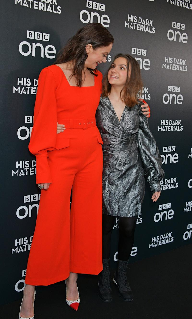 Wilson and Keen at the London premiere (Dave Benett)