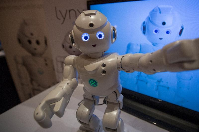 The 2018 Consumer Electronics Show will feature emerging technologies for homes, cars and digital lifestyles, and robots that are increasingly humanlike (AFP Photo/DAVID MCNEW)