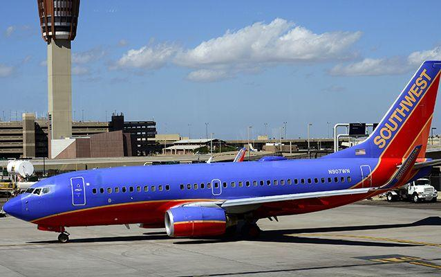 Southwest Airlines said flight attendants handled the incident appropriately and professionally. Source: Getty.