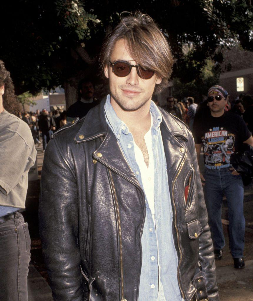 <p><strong>Taken: </strong>At a motorbike convention in California in November 1991.</p><p><strong>Breakthrough: </strong>Three years later when he portrayed Joey in <em>Friends.</em></p>