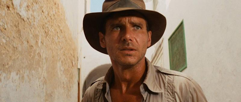 """Harrison Ford in the movie """"Raiders of the Lost Ark."""""""