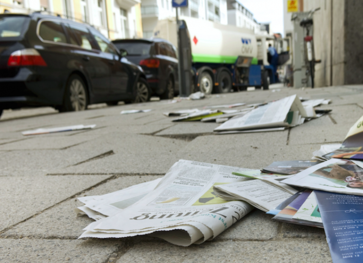 The public are being targeted by litter enforcement firms (Picture: Rex)