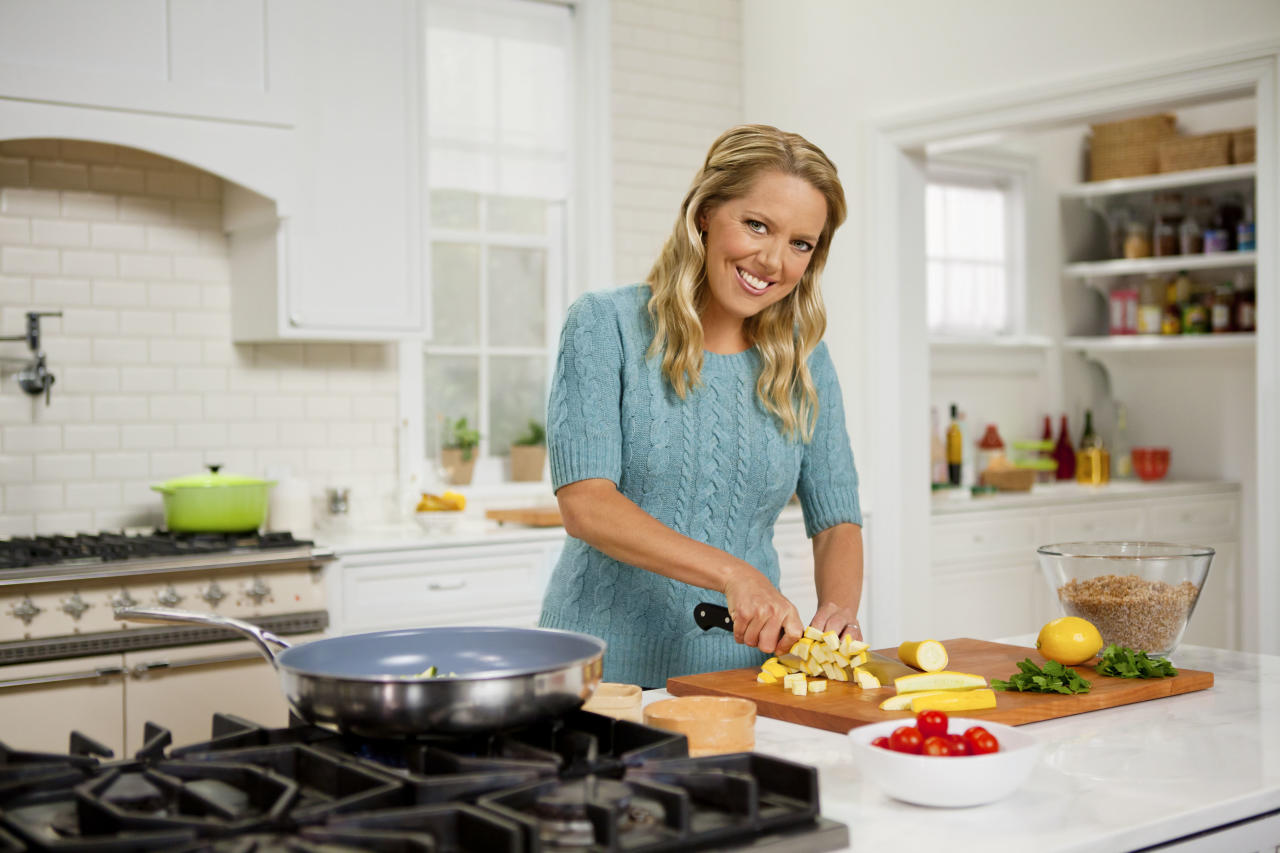 Melissa D'Arabian, host of Cooking Channel's Drop 5 Pounds.
