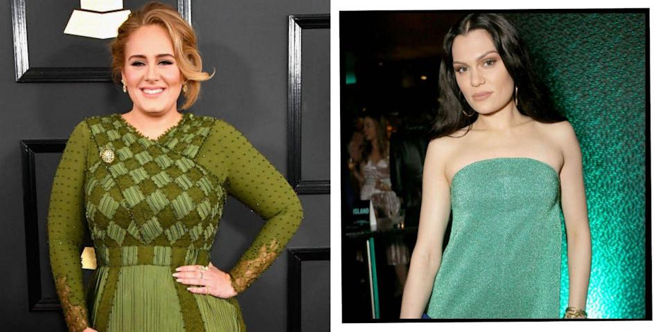 """<p>Both stars attended the performing arts BRIT school in Croydon, London, and were in the same year group though were in different classes. </p><p>Speaking to <a href=""""https://people.com/celebrity/jessie-j-talks-about-her-surprising-connection-to-adele/"""" rel=""""nofollow noopener"""" target=""""_blank"""" data-ylk=""""slk:People"""" class=""""link rapid-noclick-resp"""">People</a> in December, Jessie said: 'We were in the same year! We used to sing at lunchtime together. Obviously at that time we didn't realise that we'd both [eventually] have music out... but she's amazing. She was always that really bright energy at school.'</p><p>Jessie continued to say they are both still friendly, 'every time I get a chance, I try and text her. But she's super busy Global superstar, mum – standard'.</p><p>The respect is clearly mutual with Adele telling the <a href=""""https://www.dailyrecord.co.uk/entertainment/celebrity/adele-why-i-will-never-be-a-pampered-pop-diva-1096442"""" rel=""""nofollow noopener"""" target=""""_blank"""" data-ylk=""""slk:Daily Record"""" class=""""link rapid-noclick-resp"""">Daily Record</a> in 2012 that Jessie's voice is 'criminal'.</p><p> 'The things she can do with her voice are criminal... I have seen acoustic performances online and she is like an acrobat or a magician with her voice.'</p>"""
