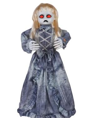 Animated Victorian Doll (Image via The Home Depot)