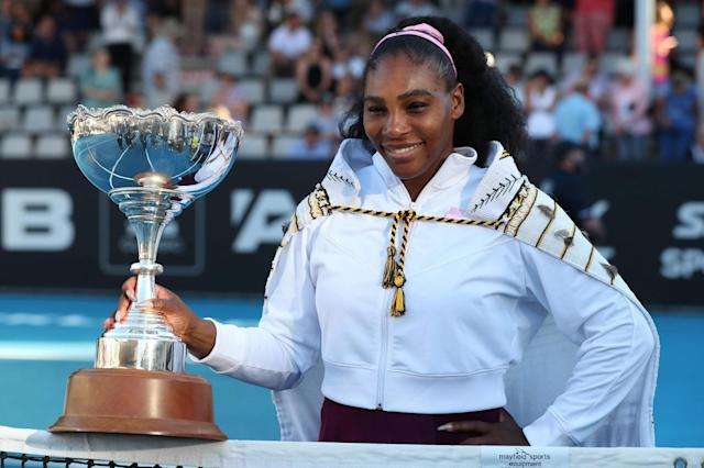 Serena Williams is targeting Margaret Court's record of 24 Grand Slams Photo: AFP via Getty Images