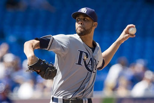 Price solid, Francisco homers as Rays beat Toronto