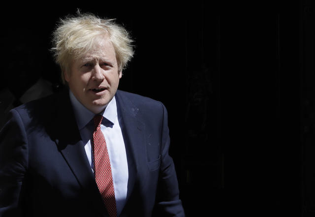 Boris Johnson faces a historic collapse in GDP, surging debt levels, and a rise in unemployment not seen in decades. Photo: Kirsty Wigglesworth/AP Photo