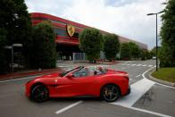 Ferrari reboots its effort to profit from fashion and fine dining