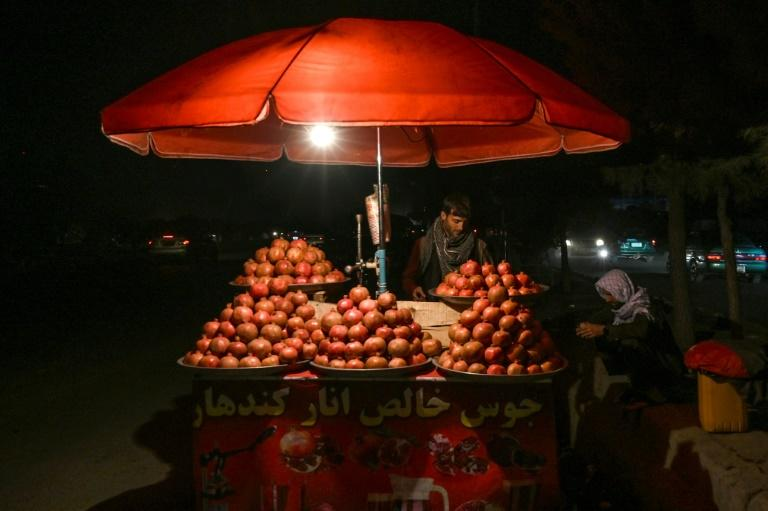 Every autumn, Afghans start drinking pomegranate juice as the fruit bursts into season