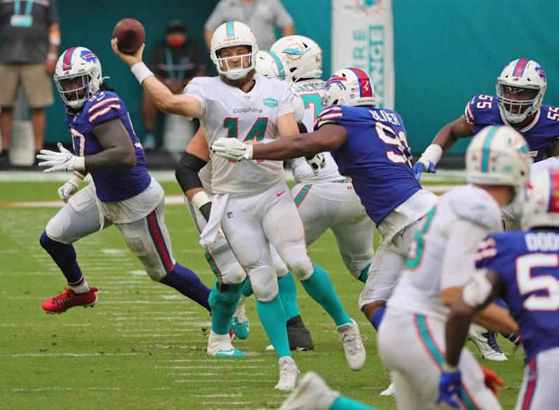 Quickie reaction: Dolphins defense has major problems for second consecutive game | Opinion