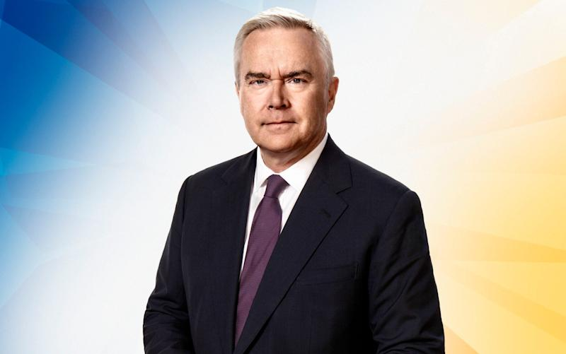 Huw Edwards anchors the BBC's election coverage for the first time - BBC