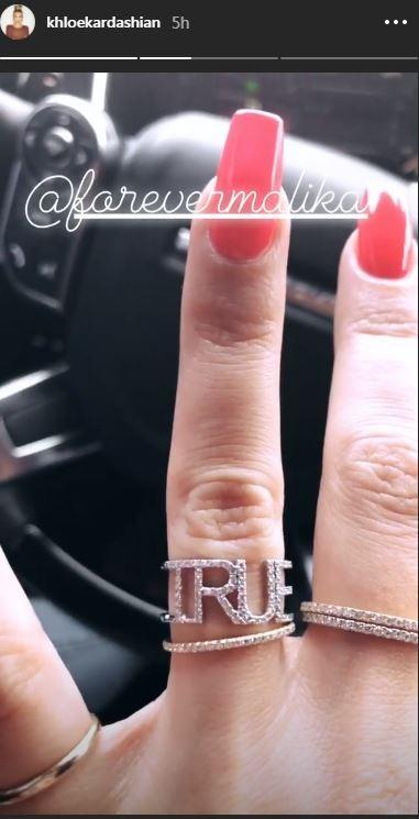 Khloe Kardashian True Ring