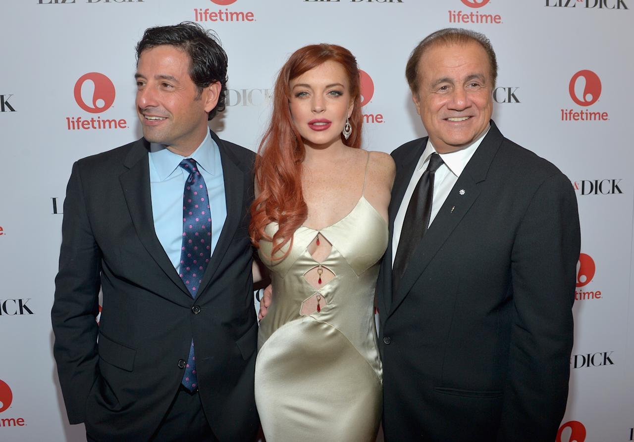 """Lifetime Celebrates The Premiere Of """"Liz & Dick"""" With The Cast, Crew And Other VIPs At A Private Dinner"""
