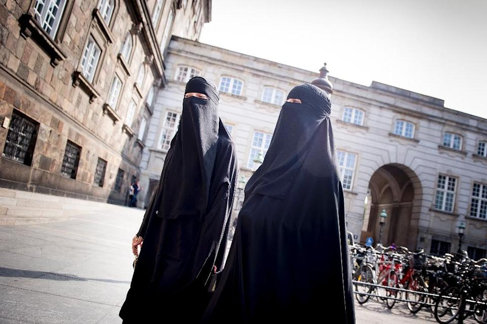 The full-face veil is a hot-button issue across Europe (AFP Photo/Mads Claus Rasmussen)