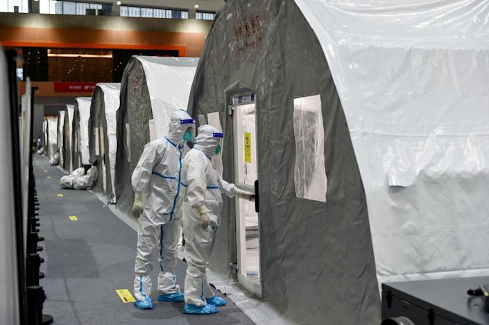 Image: CHINA-HEALTH-VIRUS (AFP - Getty Images)