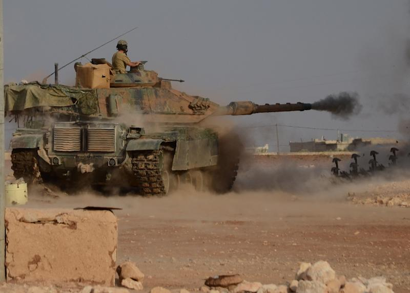 At least 37 Turkish soldiers have been killed since Ankara launched Operation Euphrates Shield -- it's military campaign in Syria -- on August 24 (AFP Photo/Nazeer al-Khatib)