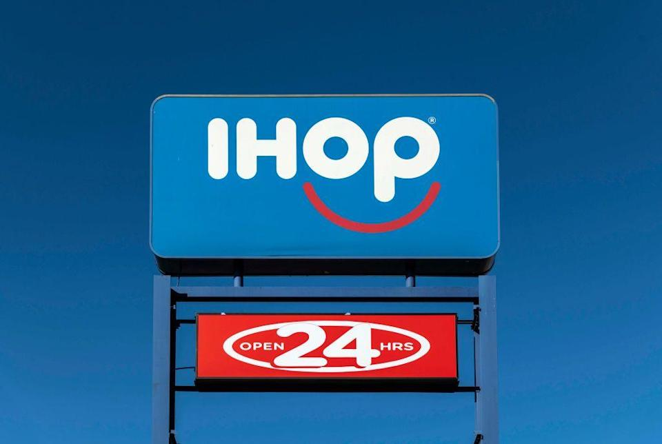 """<p>If you have a craving for pancakes on Thanksgiving morning, you might just be in luck. According to a spokesperson for IHOP, franchises will be open, but customers should call their local store to check its hours first.</p><p><strong><a href=""""https://www.ihop.com/en/restaurants"""" rel=""""nofollow noopener"""" target=""""_blank"""" data-ylk=""""slk:Find a location"""" class=""""link rapid-noclick-resp"""">Find a location</a>.</strong></p>"""