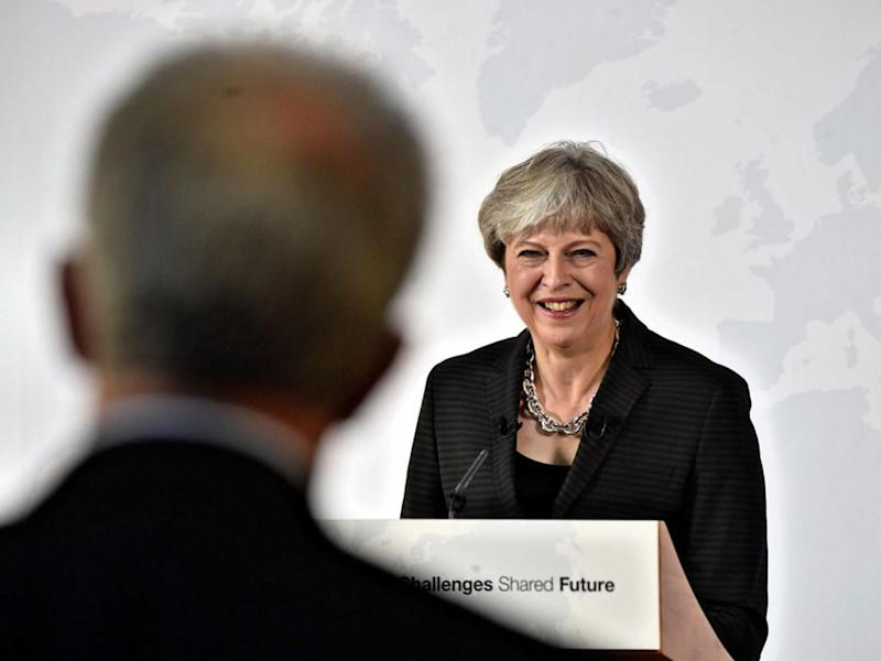 Theresa May delivered her Brexit speech in Florence: AP