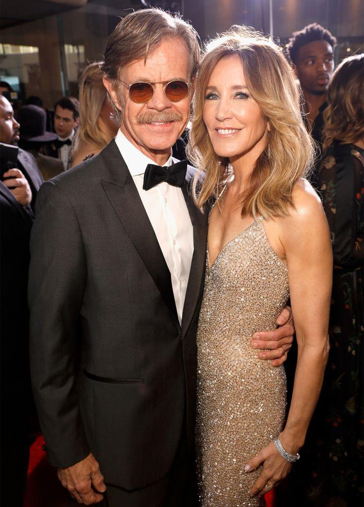 William H. Macy and Felicity Huffman   Trae Patton/NBC